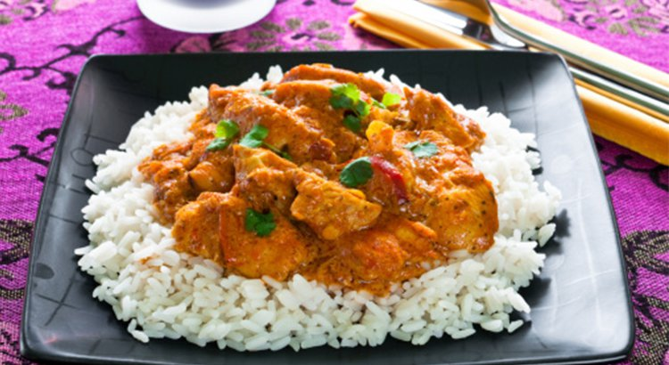 Mildy Spicy Chicken Curry