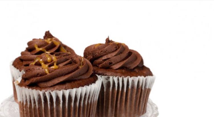 Choc-Caramel Cupcake
