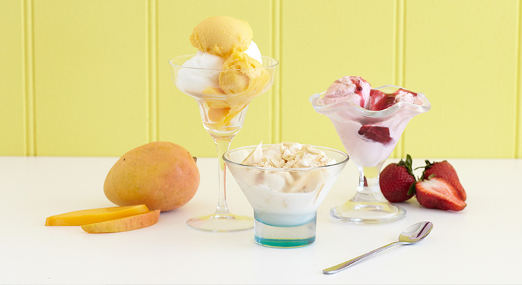 Gelato, Frozen Yoghurt and Sorbet Recipes