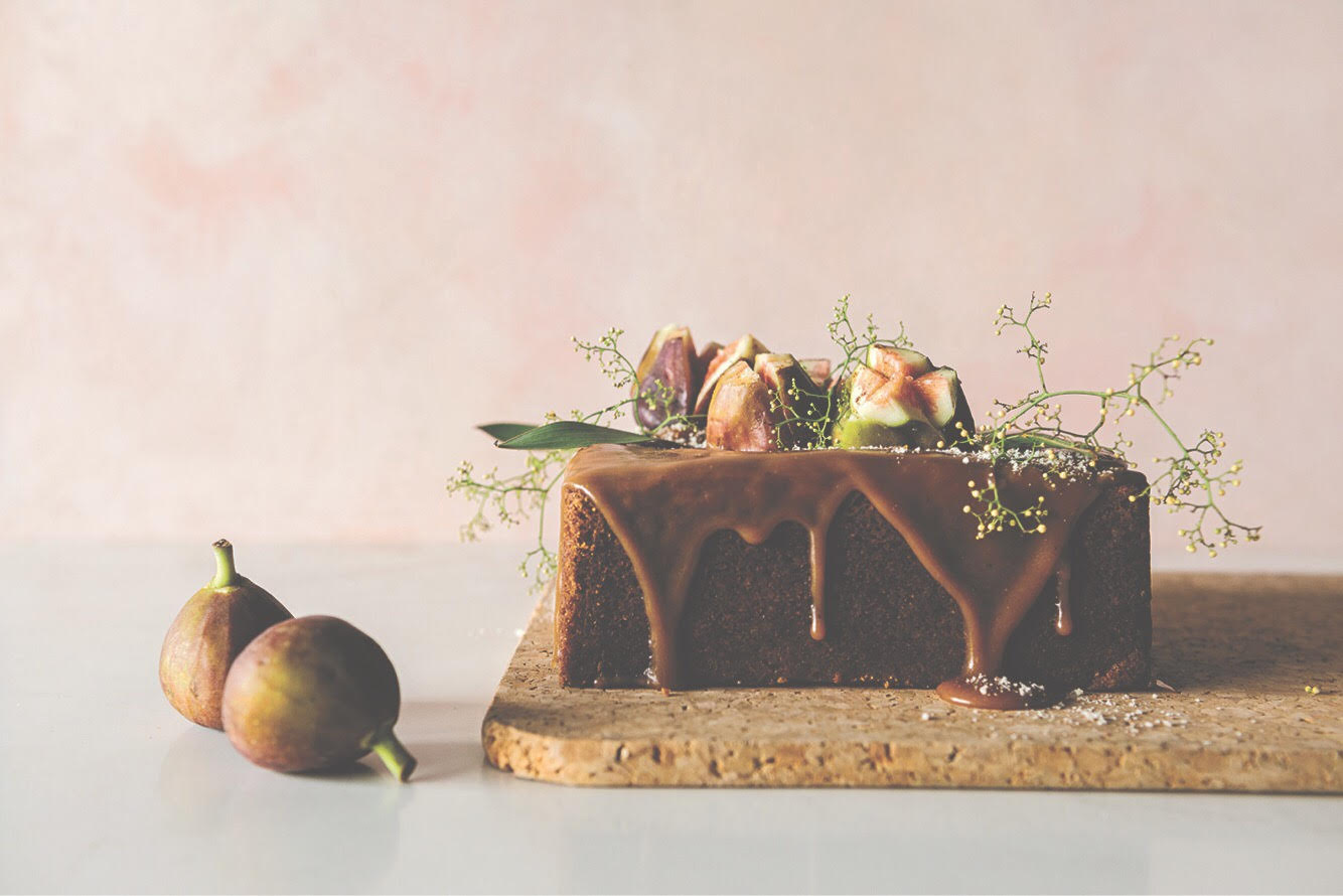 Porcini Caramel and Chestnut Cake Recipe by Hayley McKee