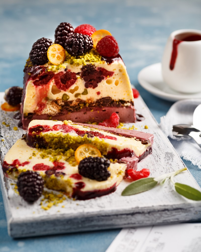 Types of frozen desserts - semifreddo