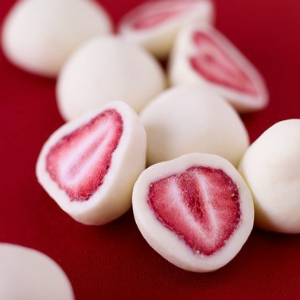 Yogurt-Covered Strawberries